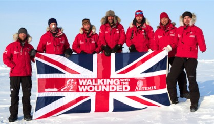 Walking With The Wounded at North Pole