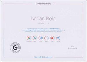 AdWords Specialist Challenge -