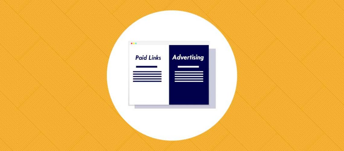 Header image for Differance between Paid Links and Advertising